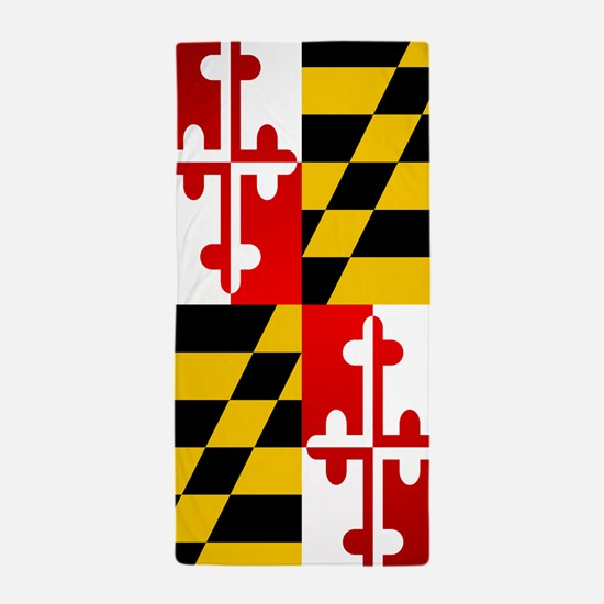 Maryland (F15)b Beach Towel