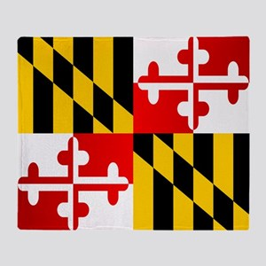 Maryland (F15)b Throw Blanket