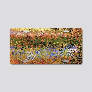 Flowering Garden by Vincent van Gogh Aluminum Lice