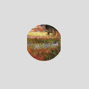 Flowering Garden by Vincent van Gogh Mini Button