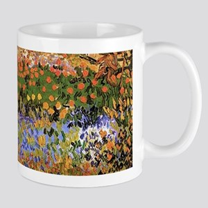 Flowering Garden by Vincent van Gogh Mugs