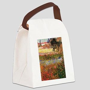 Flowering Garden by Vincent van Gogh Canvas Lunch