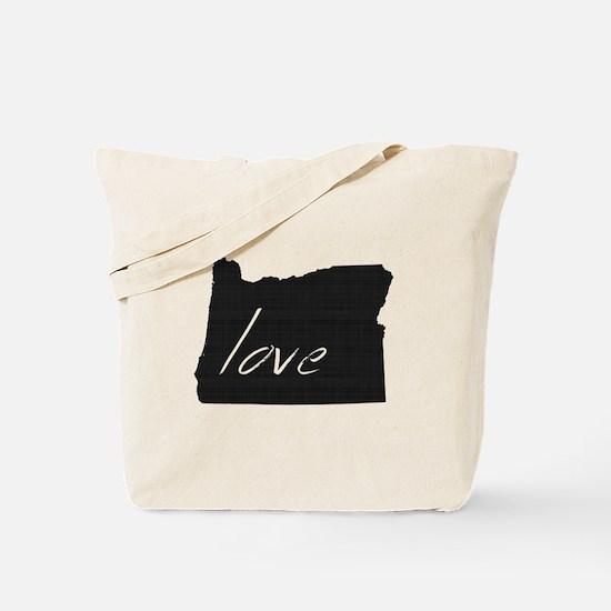 Love Oregon Tote Bag