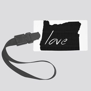 Love Oregon Large Luggage Tag