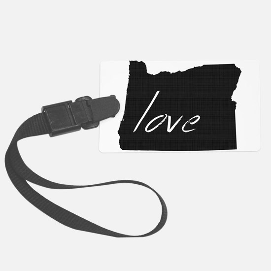 Love Oregon Luggage Tag