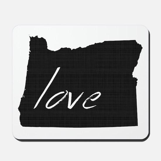 Love Oregon Mousepad