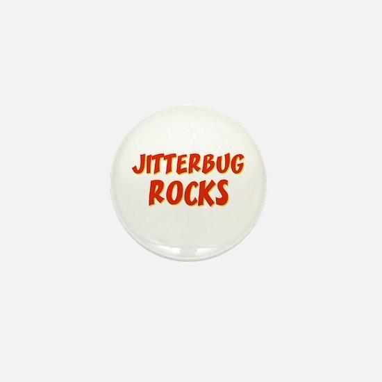 Jitterbug Rocks Mini Button