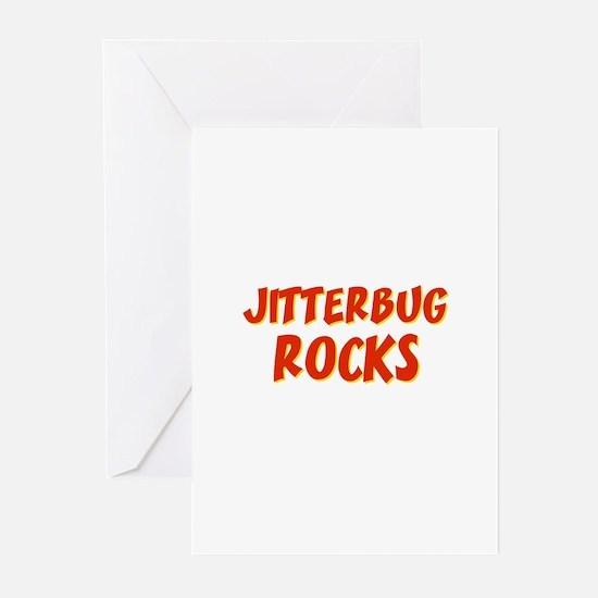 Jitterbug Rocks Greeting Cards (Pk of 10)