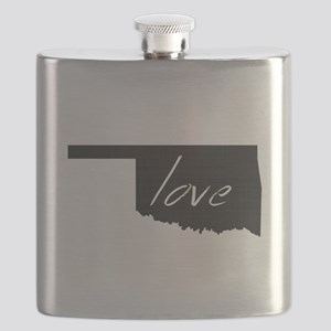 Love Oklahoma Flask