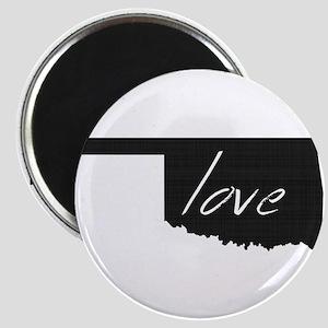 Love Oklahoma Magnet