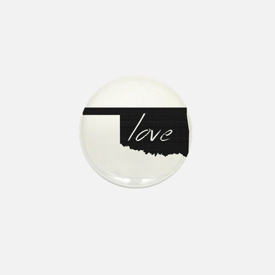 Love Oklahoma Mini Button
