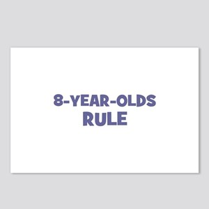 8-Year-Olds~Rule Postcards (Package of 8)