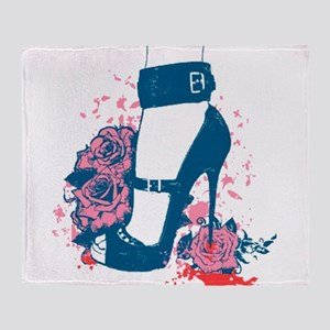 High Heels Throw Blanket