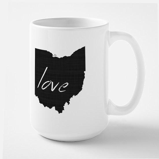Love Ohio Large Mug