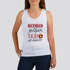 Retired But Forever a Teacher Tank Top