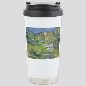 Houses in Provence by C Stainless Steel Travel Mug