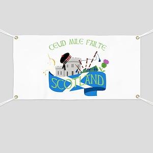 Ceud Mile Failte Scotland Banner