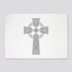 Celtic Cross 5'x7'Area Rug