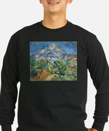 Cezanne Mont Sainte Victoire Long Sleeve T-Shirt