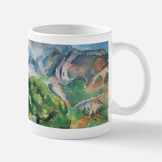 Cezanne Mont Sainte Victoire Mugs