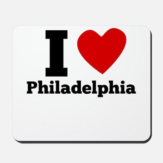 I Heart Philadelphia Mousepad