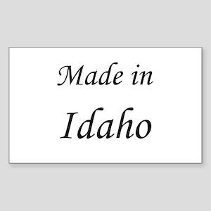 Idaho Rectangle Sticker