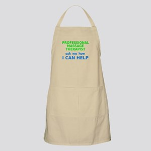 I Can Help / Ask Me How Apron