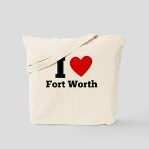 I Heart Fort Worth Tote Bag