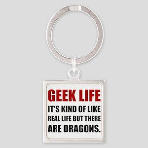 Geek Life Dragons Keychains