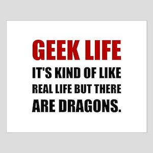 Geek Life Dragons Posters