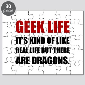 Geek Life Dragons Puzzle