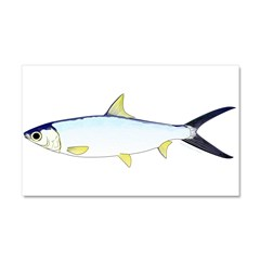 Milkfish Car Magnet 20 x 12