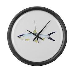 Milkfish Large Wall Clock