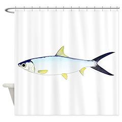 Milkfish Shower Curtain