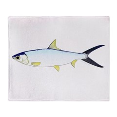 Milkfish Throw Blanket