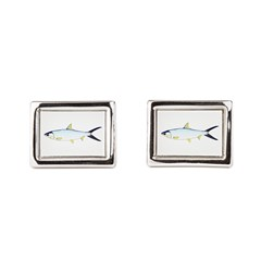 Milkfish Rectangular Cufflinks