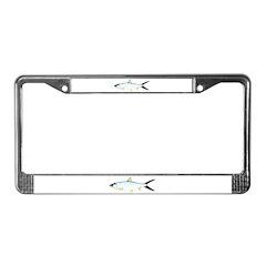Milkfish License Plate Frame