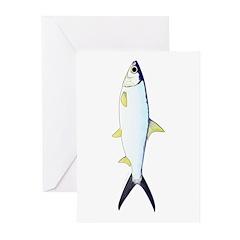 Milkfish Greeting Cards
