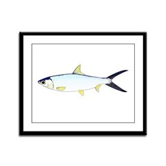 Milkfish Framed Panel Print