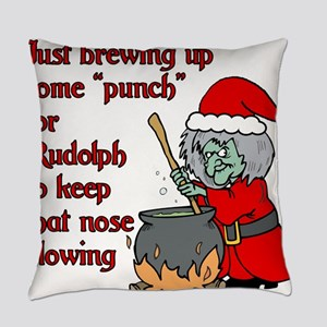 Brew for Rudolph Everyday Pillow