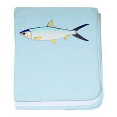 Milkfish baby blanket