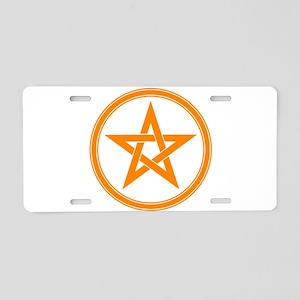 33035976pentaclea Aluminum License Plate