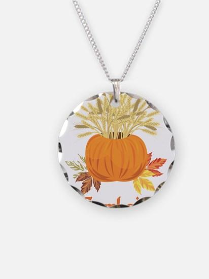 Samhain Pumpkin Necklace
