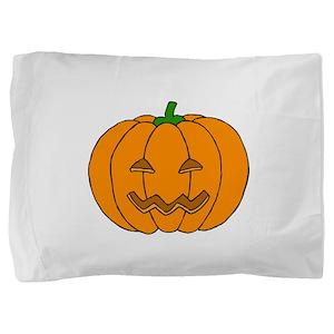 Jack O Lantern Pillow Sham