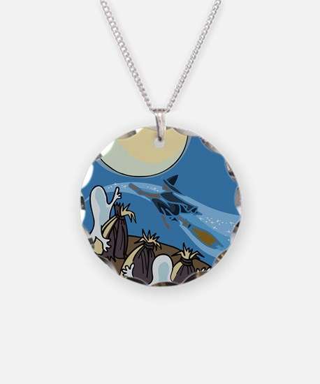 Ghosts are coming Necklace