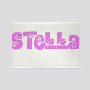 Stella Flower Design Magnets