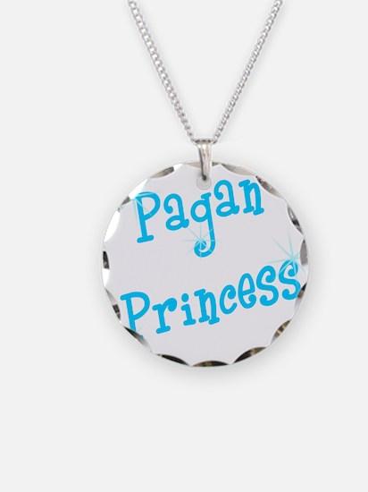 Pagan Princess Teal Necklace