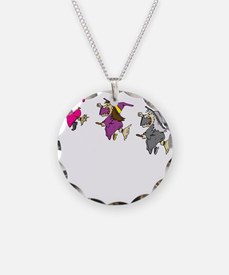 3 witches Necklace