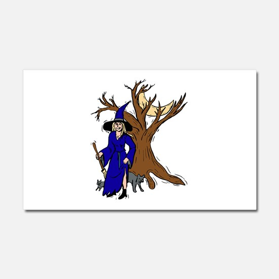 witch Car Magnet 20 x 12