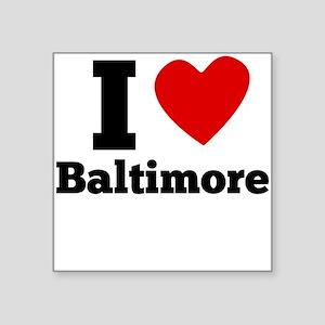 I Heart Baltimore Sticker